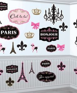 A Day in Paris Mega Value Pack Cutouts