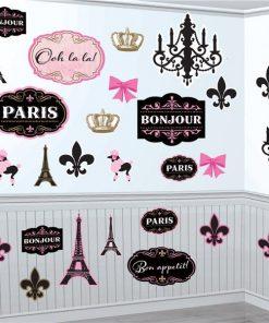 A Day in Paris Mega Value Pack Cutouts