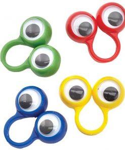 Bulk Pocket Money Toys - Googley Eye Rings
