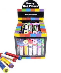 Bulk Pocket Money Toys - Kaleidoscope Keychains