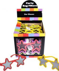 Bulk Pocket Money Toys - Star Glasses