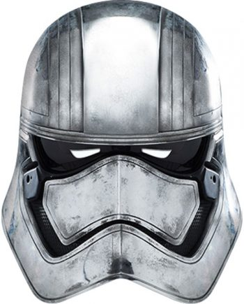 Star Wars Party Captain Phasma Mask
