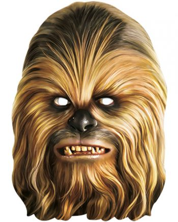 Star Wars Party Chewbacca Mask