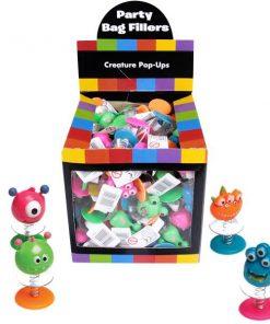 Bulk Pocket Money Toys - Creature Pop Ups