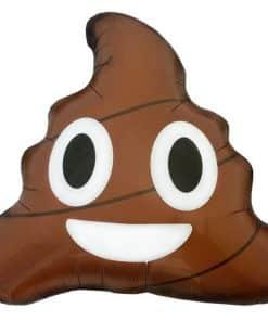 Emoji Poop Foil Balloon