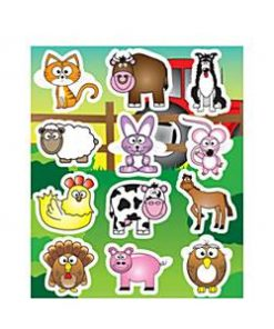 Bulk Pocket Money Toys - Farm Animals Stickers