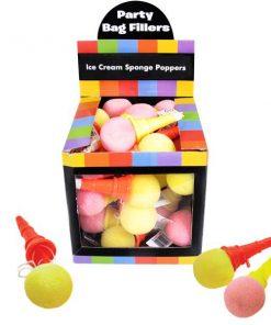 Bulk Pocket Money Toys - Ice Cream Sponge Poppers