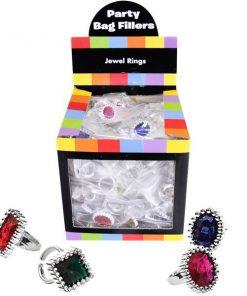 Bulk Pocket Money Toys - Jewel Rings