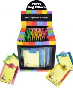 Bulk Pocket Money Toys - Mini Clipboards & Pencils