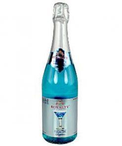 Non-Alcoholic Blue Peach Cocktail