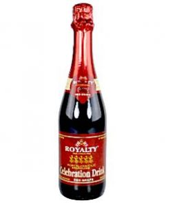 Non-Alcoholic Royalty Red Grape Cocktail