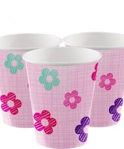 One is Fun Girl Party Paper Cups