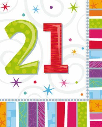 21st Radiant Birthday