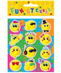 Bulk Pocket Money Toys - Smiley Face Stickers
