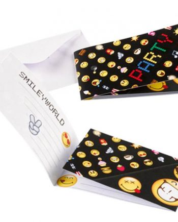Smiley Party Invitation Cards