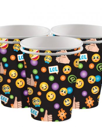 Smiley Party Paper Cups