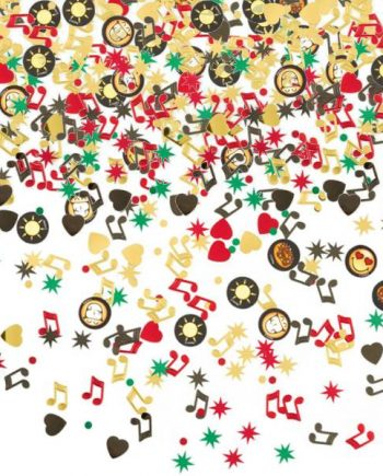 Smiley Party Table Confetti