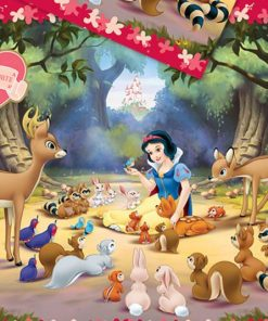 Snow White Party Plastic Tablecover