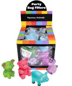 Bulk Pocket Money Toys - Squeezy Animals