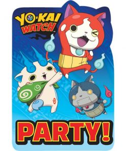 Yo-Kai Watch Party Invitations