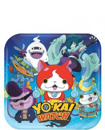 Yo-Kai Watch Party Paper Plates