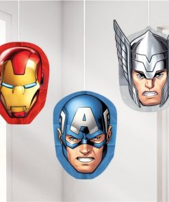 Avengers Party Honeycomb Hanging Decorations