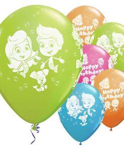 Bubble Guppies Printed Latex Balloon