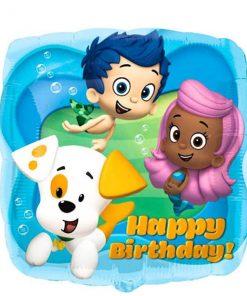 Bubble Guppies Happy Birthday Balloon