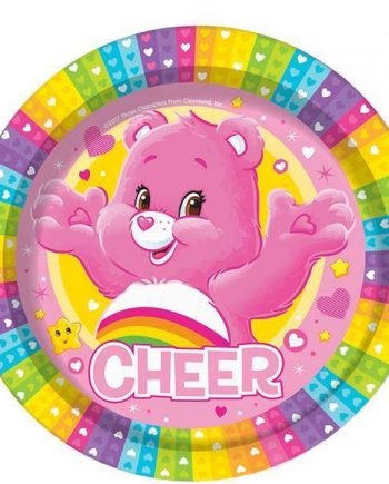 Care Bears Party Paper Plates