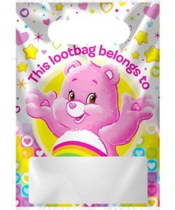 Care Bears Party Plastic Loot Bags