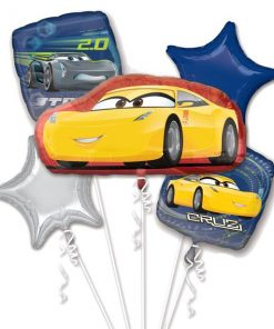 Disney Cars Party Cruz & Jackson Balloon Bouquet