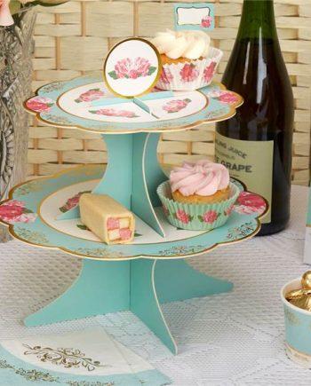 Eternal Rose Tea Party Eternal Rose Cake Stand