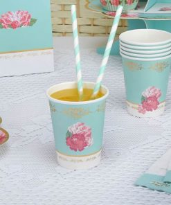 Eternal Rose Tea Party Paper Cups