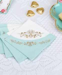 Eternal Rose Tea Party Paper Napkins