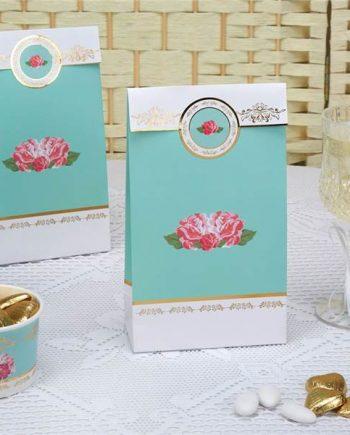 Eternal Rose Tea Party Paper Loot Bags