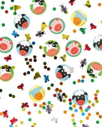 Farm Fun Party Table Confetti