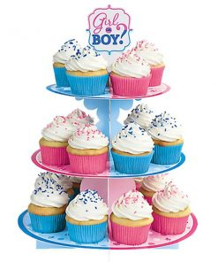 Gender Reveal Party Cake Stand