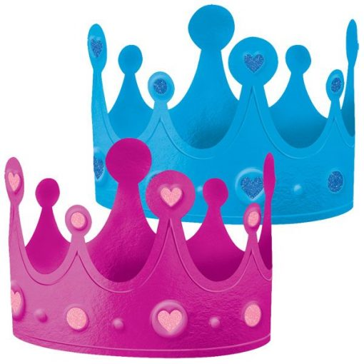 Gender Reveal Party Crowns