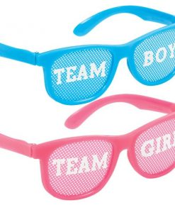 Gender Reveal Party Glasses