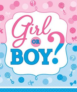Gender Reveal Party Paper Napkins