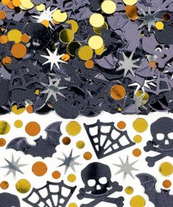 Halloween Party Shocktails Mix Table Confetti