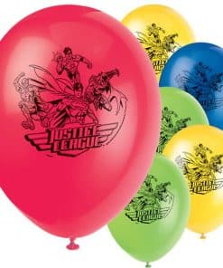 Superheroes Justice League Party Printed Latex Balloons
