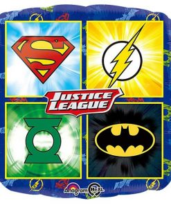 Justice League Emblems Square Balloon