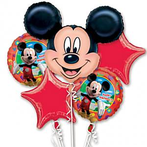Mickey Mouse Balloon Bouquet