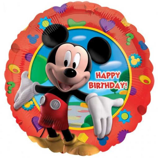 Mickey's Clubhouse Happy Birthday Foil Balloon