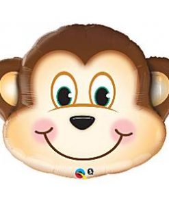 Mischievous Monkey Supershape Balloon