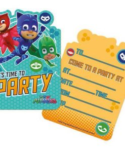 PJ Masks Party Invites