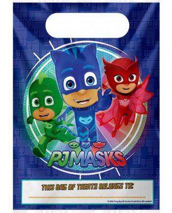 PJ Masks Party Plastic Loot Bags