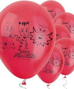 PJ Masks Party Printed Latex Balloons