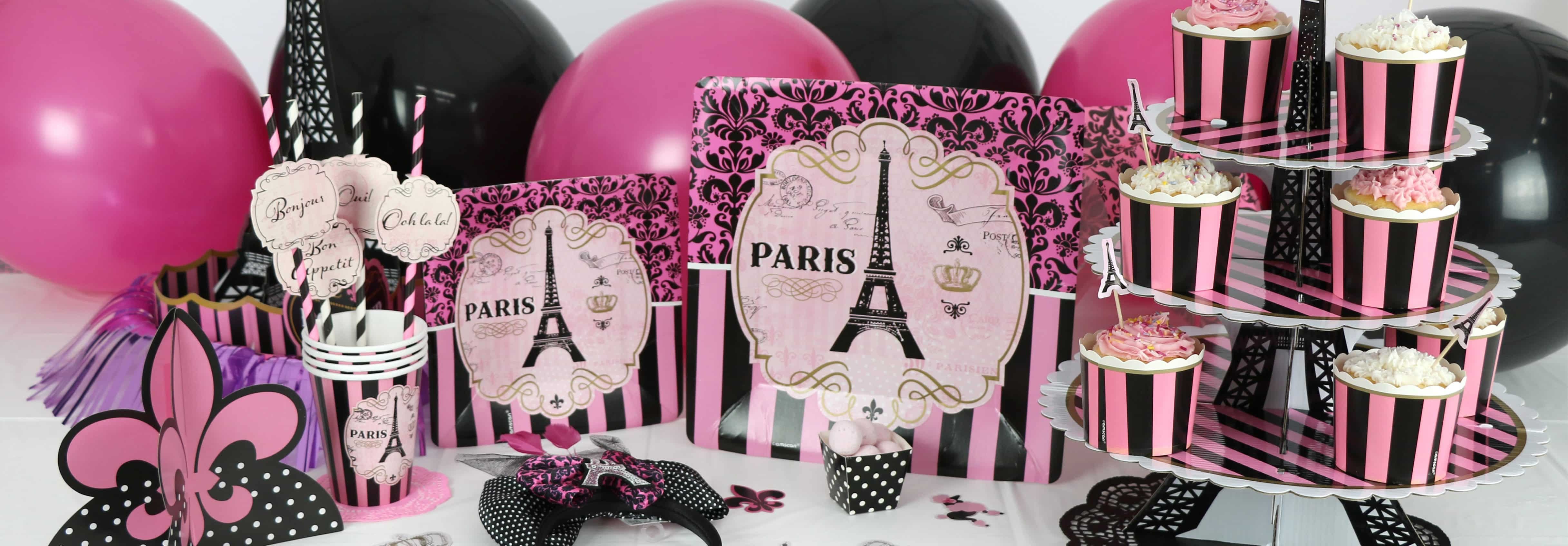 day in paris party supplies decorations novelties fun party supplies. Black Bedroom Furniture Sets. Home Design Ideas